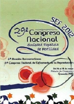 Nuestro primer congreso de fertilidad en la SEF Granada 2012