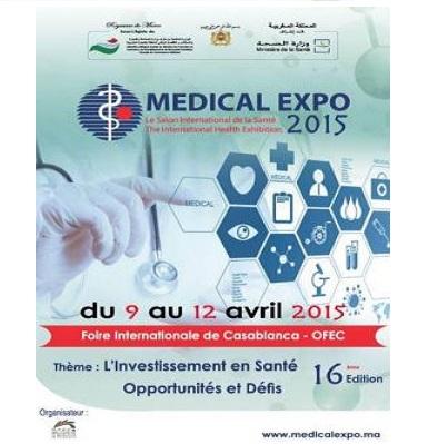 Naturalsoft en Medical Expo 2015 Casablanca en el pabellón de España