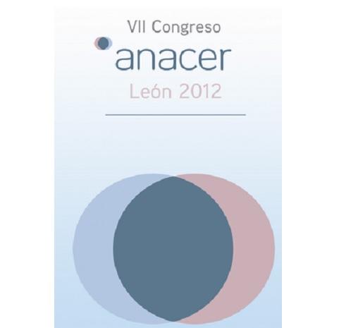 VII CONGRESO ANACER – LEÓN. 31 mayo y 1 de Junio de 2012