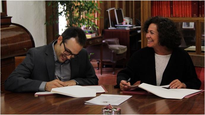 """Convenio de colaboración Naturalsoft Solutions y la UGR """"Universidad de Granada"""""""